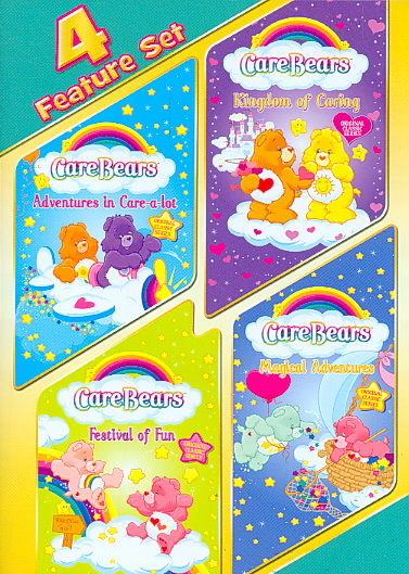 CARE BEARS CLASSIC QUAD BY CARE BEARS (DVD)